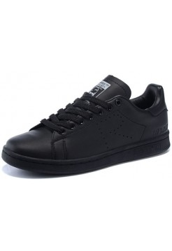 Кроссовки Adidas Raf Simons Stan Smith Black (МАW014)