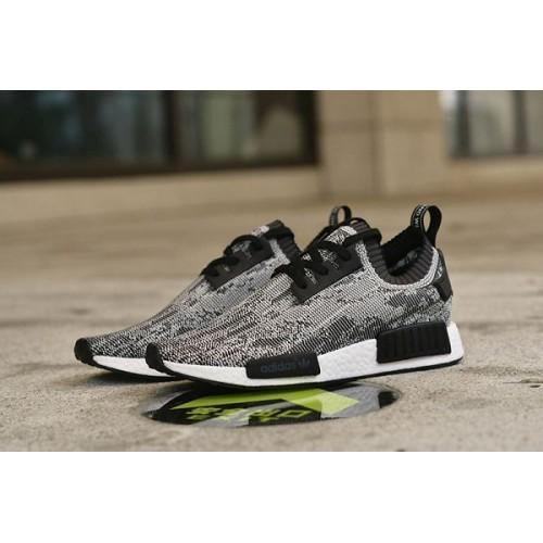 Кроссовки Adidas Originals NMD Runner Motled Noir Blanc (ЕW222)