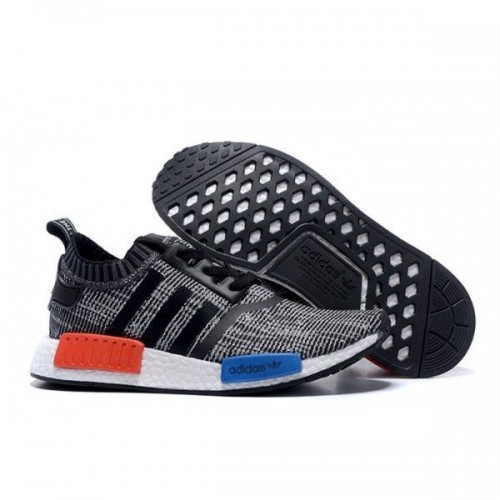 Кроссовки Adidas Originals NMD Runner Mottled Bl/Wh (Е-224)