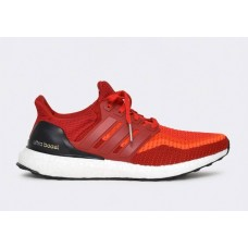 Кроссовки Adidas Ultra Boost Red/O (Е-327)