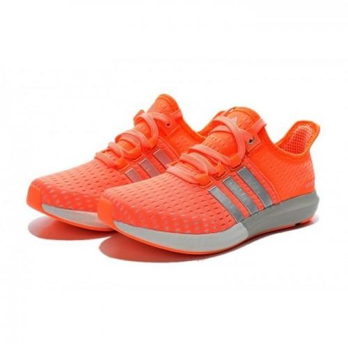 Кроссовки Adidas Gazelle Boost Orange (Е-324)