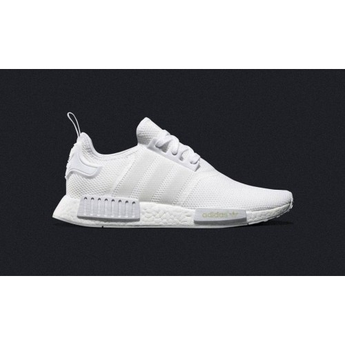 Кроссовки Adidas NMD Runner Core White (Е-421)