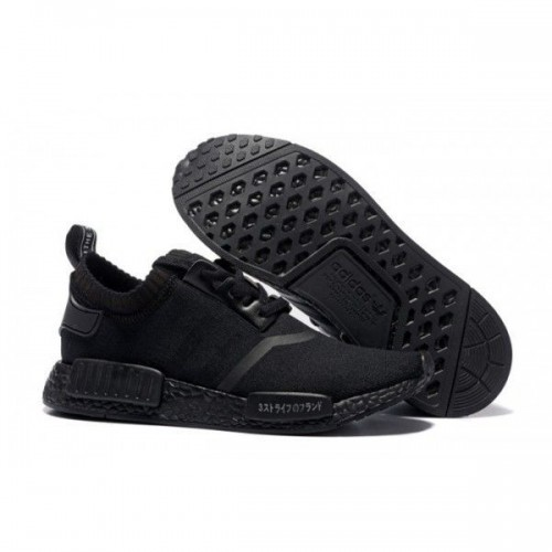 Кроссовки Adidas NMD Runner Triple Black (ЕOW423)