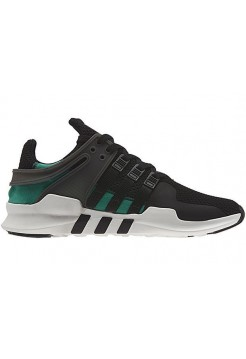 Кроссовки Adidas Ultra Boost Black/Green (Е-501)