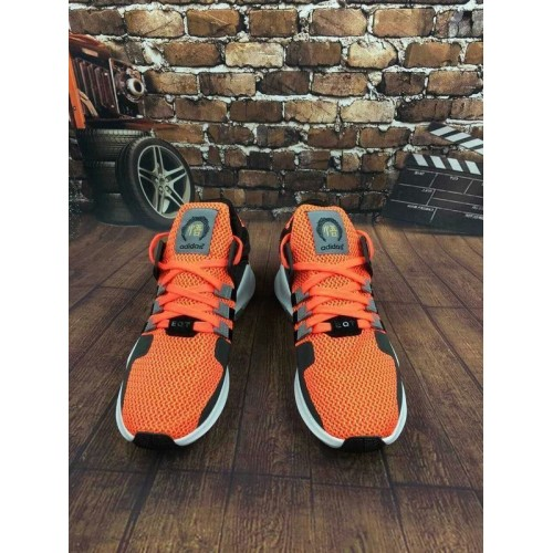 Кроссовки Adidas EQT Originals Running Orange/Black (Е-325)