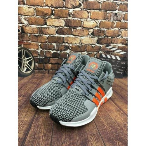 Кроссовки Adidas EQT Originals Running Orange/Grey (А326)