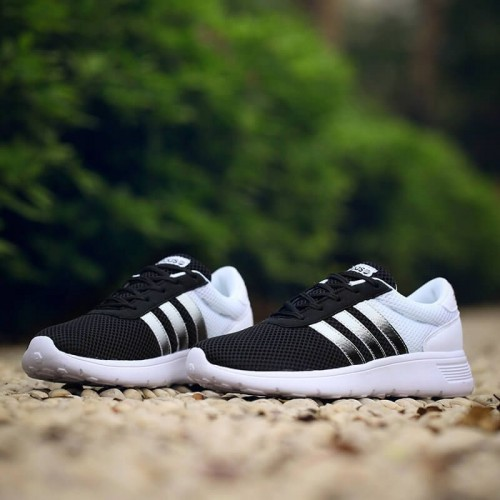 Кроссовки Adidas Gazelle Neo Black/White (Е-325)