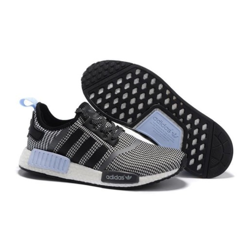 Кроссовки Adidas NMD Runner Grey/Light Blue (ЕО424)
