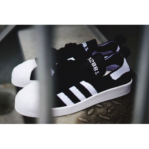 Кроссовки Adidas Superstar 80s Bl/Wh (Е-129)