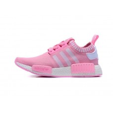 Кроссовки Adidas NMD Runner Pink (Е-425)