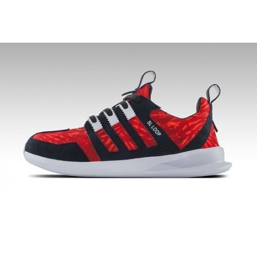 Кроссовки Adidas Originals SL Loop Runner Red (Е-362)