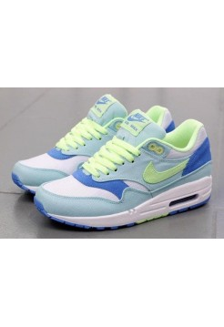 Кроссовки Nike Air Max 87 Premium Lime/White (Е-511)