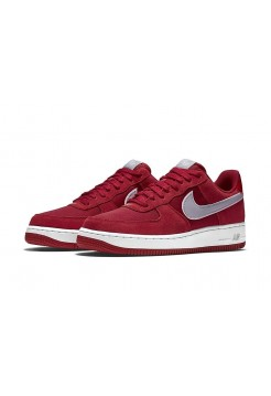 Кроссовки Nike Air Force Suede Red (Е-223)