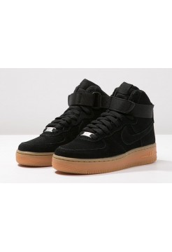 Кроссовки Nike Air Force High Black Gum (ОVАМ212)