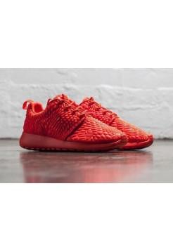 Кроссовки Nike Roshe Run Red (Е-171)