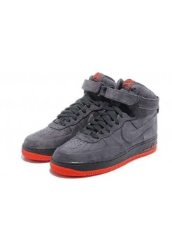 Кроссовки Nike Air Force High Vt Grey (Е272)