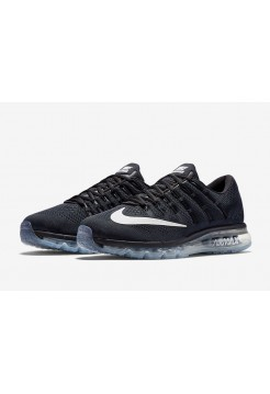 Кроссовки Nike Air Max 2016 Black/White (Е-127)