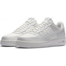 Кроссовки Nike Air Force Reptiliano White (Е-122)