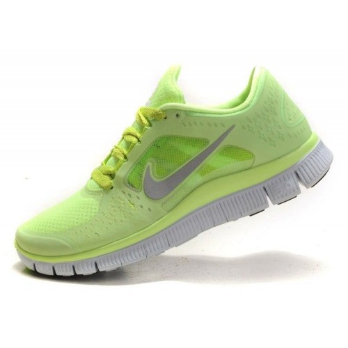 Кроссовки Nike Free Run Plus Green (Е-354)