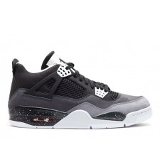Кроссовки Nike Air Jordan IV Retro Black/Grey (Е-243)