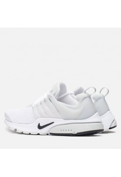 Кроссовки Nike Air Presto All White (Е-212)