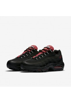 Кроссовки Nike Air Max 95 Essential Black/Red (Е-357)