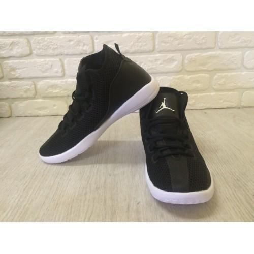 Кроссовки Nike Air Jordan IV Черные (Е-244)