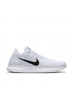 Кроссовки Nike Free Run Flyknit White (Е-123)
