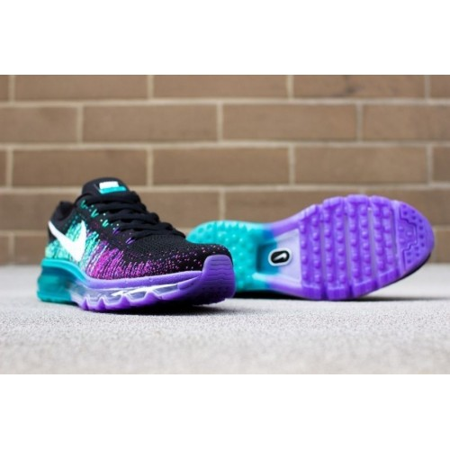 Кроссовки Nike Air Max Flyknit Purple Venom (Е-625)