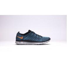 Кроссовки Nike Free Run Flyknit NSW 4 Blue (Е-124)