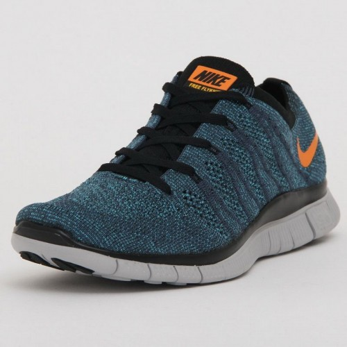 Кроссовки Nike Free Run Flyknit NSW 4 Blue (Е-124)
