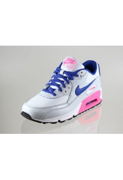 Кроссовки Nike Air Max 90 Бело/розовый (Е-134)