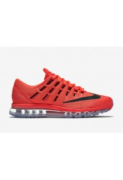 Кроссовки Nike Air Max 2016 Black-Red (Е-122)