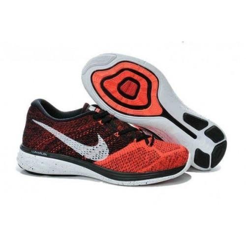 Кроссовки Nike Flyknit Lunar Orang (E-241)