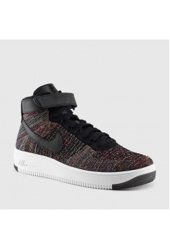 Кроссовки Nike Air Force Ultra Flyknit Mid Multicolor (Е-380)