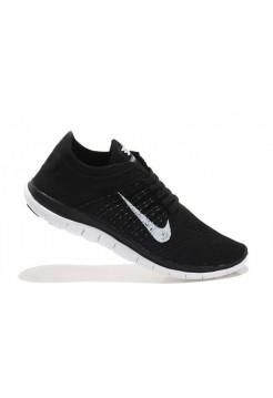 Кроссовки Nike Free Run Flyknit Черные (Е-127)