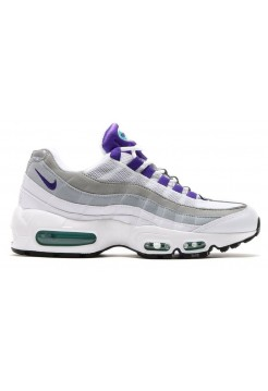 Кроссовки Nike Air Max 95 QS White/Court Purple (Е-358)