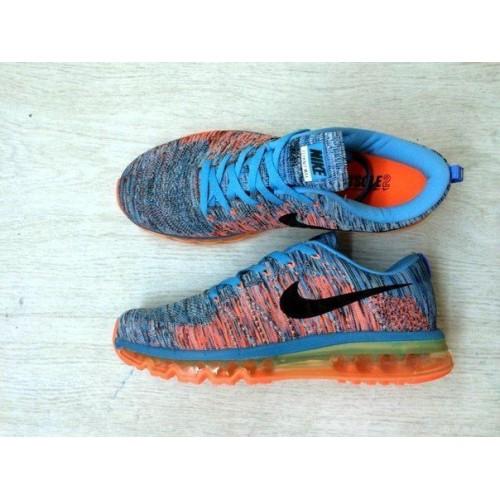 Кроссовки Nike Air Max Flyknit Ocean Fog (Е-621)