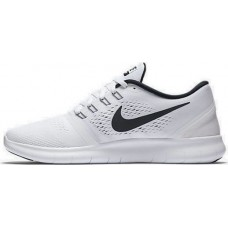 Кроссовки Nike Free Run White/Black (Е-122)