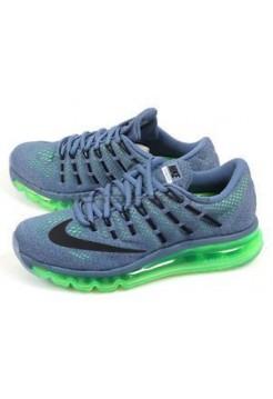 Кроссовки Nike Air Max 2016 Green/Ocean Fog (Е-124)