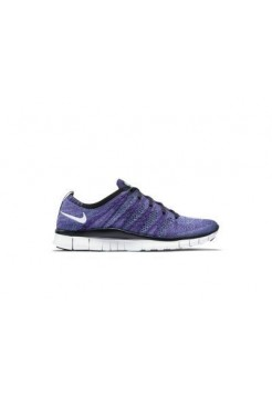 Кроссовки Nike Free Run Flyknit NSW Low Purple (Е-122)