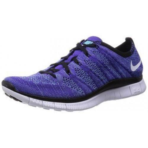 Кроссовки Nike Free Run Flyknit NSW Low Purple (Е-122)