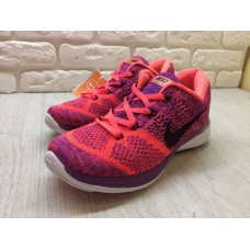Кроссовки Nike Flyknit Lunar 3 Orange/Rose (E-244)
