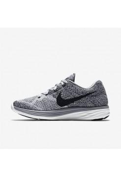 Кроссовки Nike Flyknit Lunar 3 Grey (EM248)