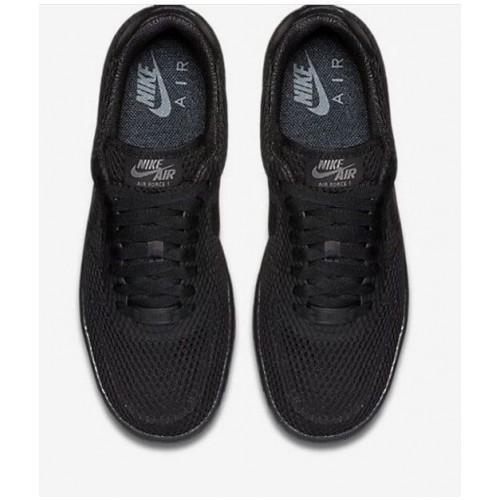Кроссовки Nike Air Force Low Черные (Е-288)