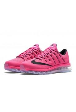 Кроссовки Nike Air Max 2016 Pink/Black (Е-122)
