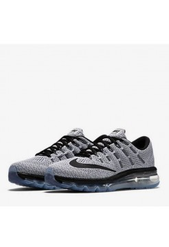 Кроссовки Nike Air Max 2016 Black/White (Е-126)