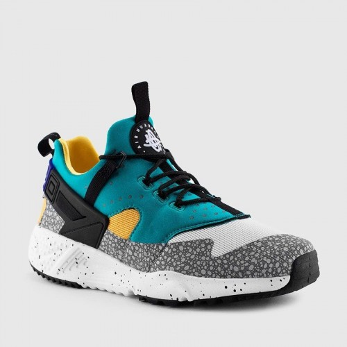 Кроссовки Nike Air Huarache Utility Emerald Green (Е-714)