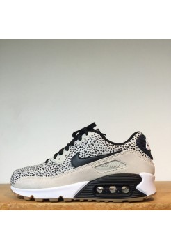 Кроссовки Nike Air Max 90 Premium Safari Frog (Е-128)