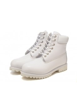 Ботинки Timberland 6 inch All White (О711)